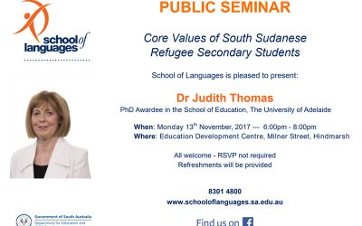 Free Public Seminar