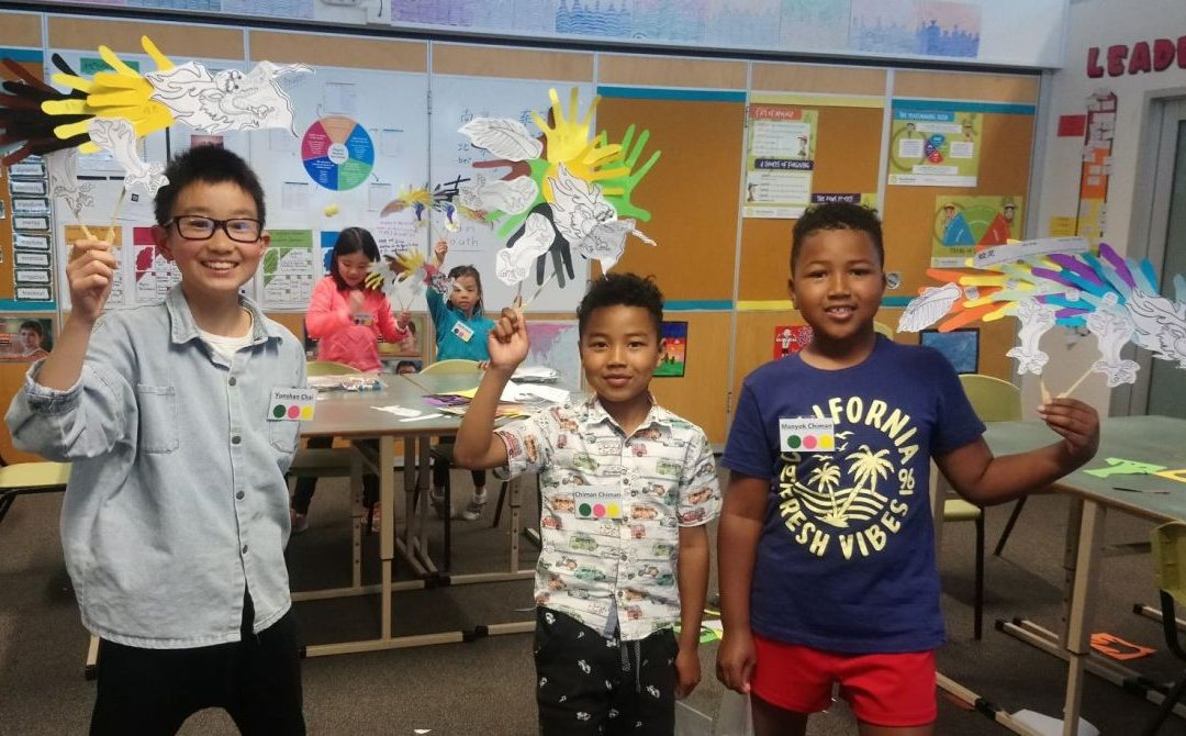 Discovering the Legends of China through the October Languages Alive! program at Pilgrim School!